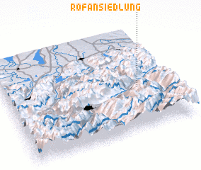 3d view of Rofansiedlung