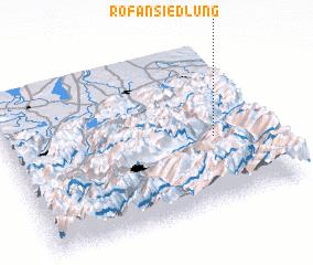 3d view of Rofansiedlung