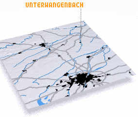 3d view of Unterwangenbach