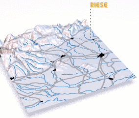 Riese (Italy) map - nona.net on