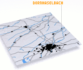 3d view of Dornhaselbach