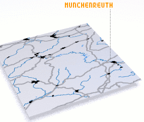 3d view of Münchenreuth