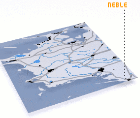 3d view of Neble