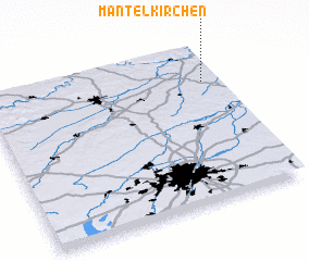 3d view of Mantelkirchen