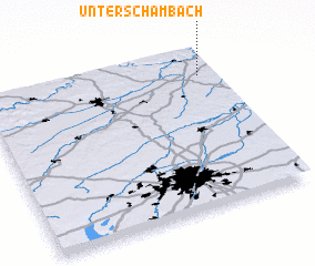 3d view of Unterschambach