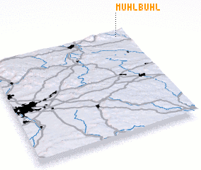 3d view of Mühlbühl