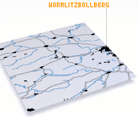 3d view of Wörmlitz-Böllberg