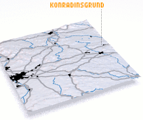 3d view of Konradinsgrund