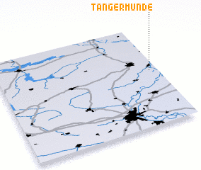 3d view of Tangermünde