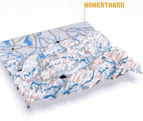 3d view of Hohenthann
