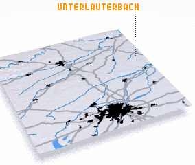 3d view of Unterlauterbach
