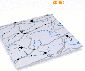 3d view of Grüna