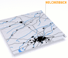 3d view of Helchenbach