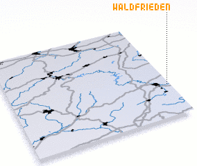 3d view of Waldfrieden