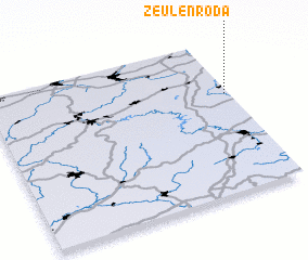3d view of Zeulenroda