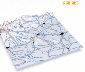 3d view of Aguiaro