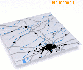 3d view of Pickenbach