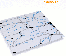 3d view of Görschen
