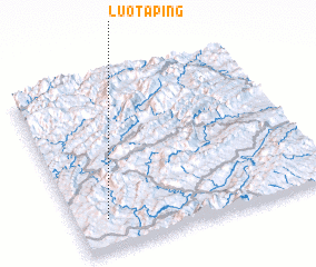 3d view of Luotaping