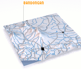3d view of Bandongan