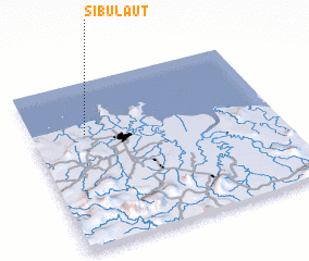 3d view of Sibu Laut