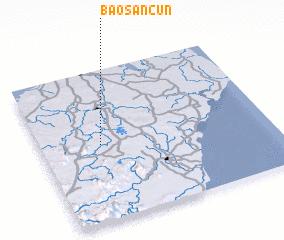 3d view of Baosancun