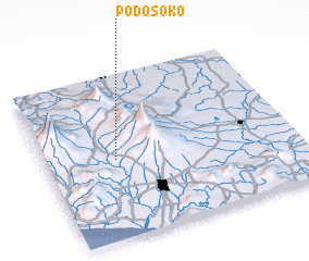 3d view of Podosoko
