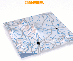 3d view of Candiumbul