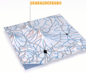 3d view of Grabag-merbabu