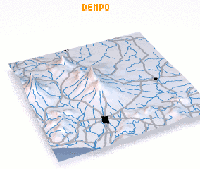 3d view of Dempo