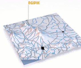 3d view of Ngipik