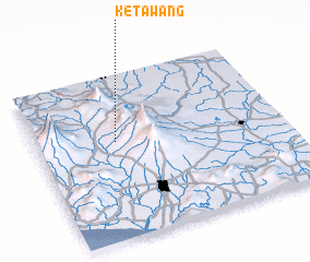 3d view of Ketawang