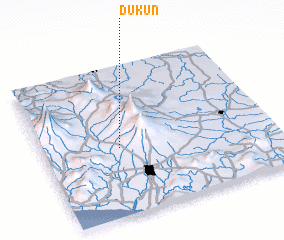 3d view of Dukun