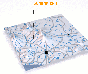 3d view of Semampiran