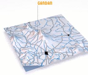 3d view of Gandan