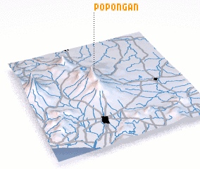 3d view of Popongan