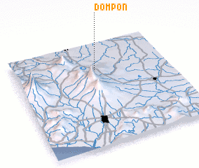 3d view of Dompon
