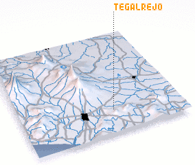 3d view of Tegalrejo