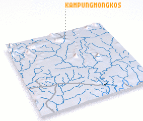 3d view of Kampung Mongkos