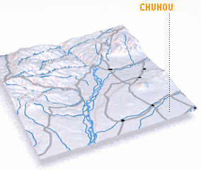 3d view of Chuhou