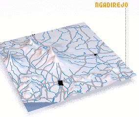 3d view of Ngadirejo