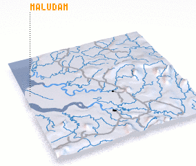 3d view of Maludam
