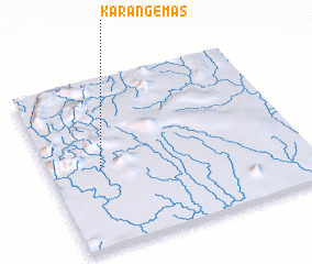 3d view of Karangemas