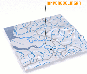 3d view of Kampong Belingan