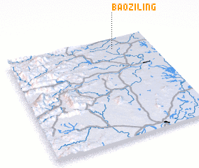 3d view of Baoziling