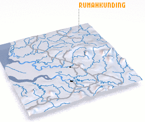 3d view of Rumah Kunding
