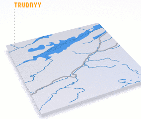 3d view of Trudnyy