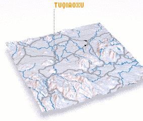 3d view of Tuqiaoxu