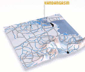 3d view of Kandangasin