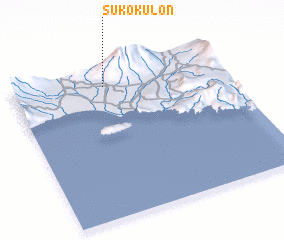 3d view of Suko-Kulon